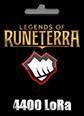 Legend of Runeterra 4400 LoRa 4400 LoRa Satın Al