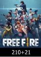 Free Fire 210 + 21 Elmas 231 Elmas Satın Al