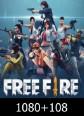 Free Fire 1080 + 108 Elmas 1188 Elmas Satın Al