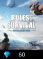 Rules of Survival 60 Diamonds Rules Of Survival 60 Diamonds Satın Al