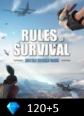 Rules of Survival 120+5 Diamonds Rules Of Survival 125 Diamonds Satın Al