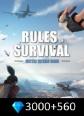 Rules of Survival 3000+560 Diamonds Rules Of Survival 3560 Diamonds Satın Al
