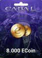 Cabal Online Eu 8.000 ECoin 8.000 ECoin Satın Al