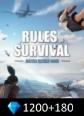 Rules of Survival 1200+180 Diamonds Rules Of Survival 1380 Diamonds Satın Al
