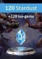 MARVEL Duel 120 Stardust +120 Iso-gems 120 Stardust + 120 Iso-gems Satın Al