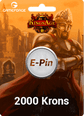 Kings Age 300 TL E-Pin 2000 Hükümdarlık (Kron) Satın Al