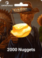 Wild Guns 150 TL E-Pin 2.000 Nuggets (Külçe) Satın Al